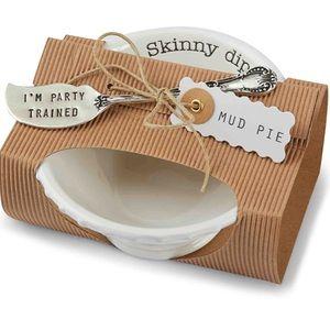 Mud Pie Skinny Dip Bowl Set
